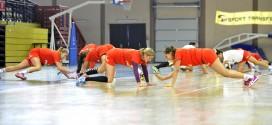 Seniorki trenują w Pruszkowie