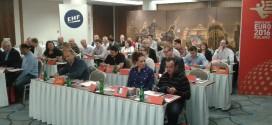 Szefowie delegacji drużyn z wizytą w Polsce