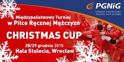 CHRISTMAS CUP: Ruszyła sprzedaż biletów na turniej piłkarzy ręcznych we Wrocławiu