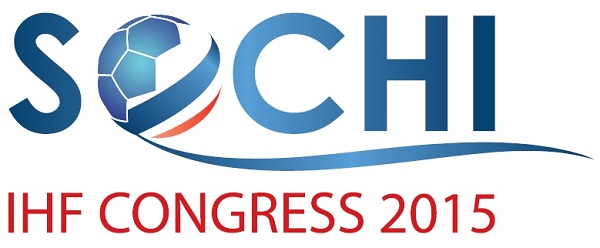Logo Kongres IHF w Sochi (listopad 2015)